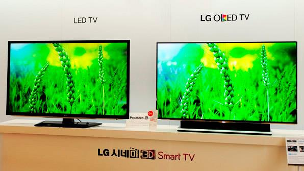 televisores led vs oled