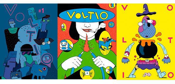 Voltio - comic - portadas