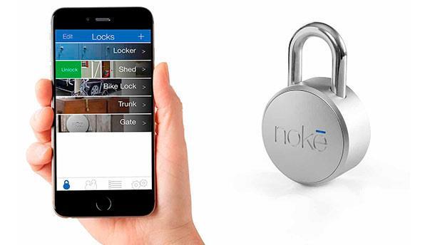 gadgets smartphone - NOKE PADLOCK