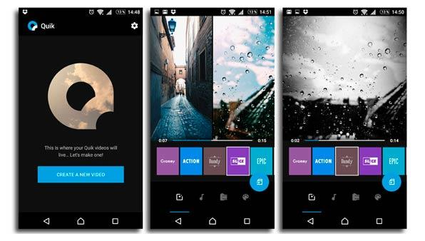 apps - gopro quik android