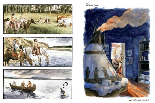 'La estación de las flechas',  de Guillaume Trouillard y Samuel Stento