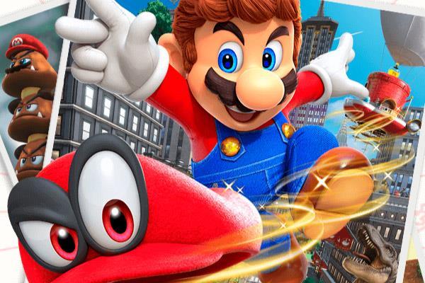 'Mario Odyssey': Cinco horas con Mario