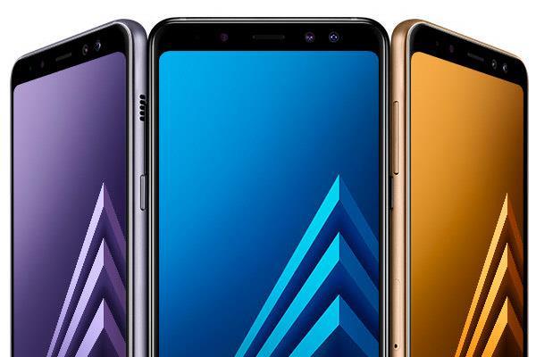 Samsung Galaxy A8: Selfiephone
