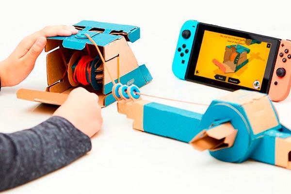 El laboratorio loco de Nintendo