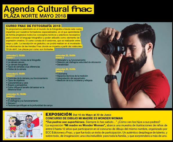 agenda fnac plaza norte mayo 2018