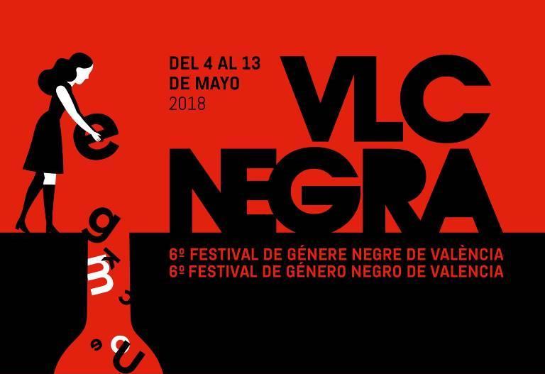 VLC NEGRA, 6º Festival de género negro de Valencia