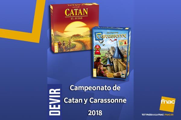 Torneo de Catan y Carcassone 2018
