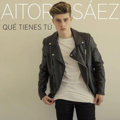 Firma de discos de Aitor Sáez