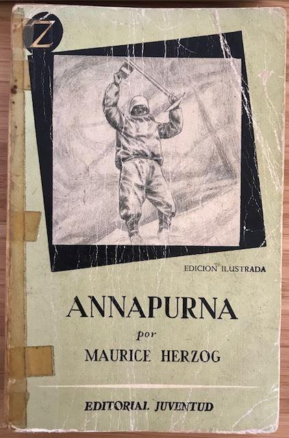 Annapurna - libro Maurice Herzog