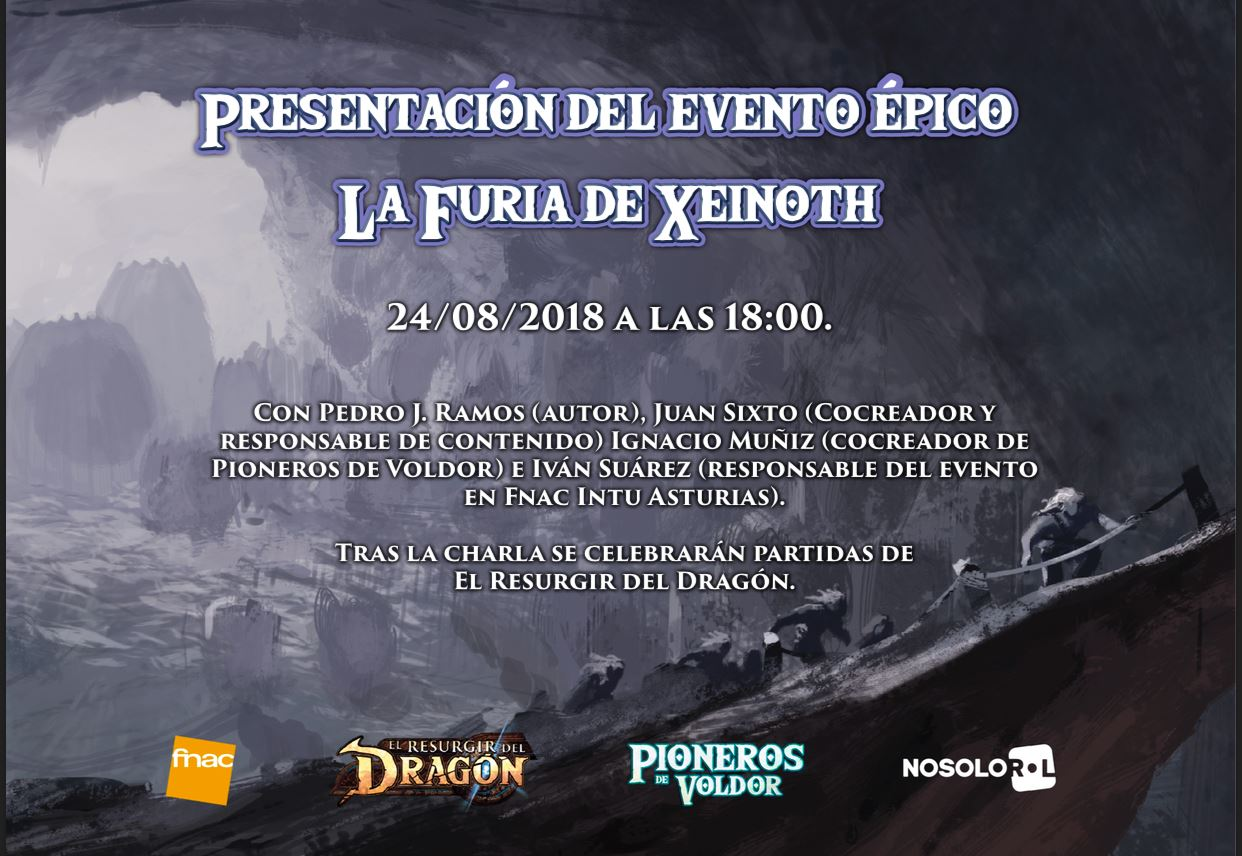 """PRESENTACION DE """"LA FURIA DE XEINOTH"""""""