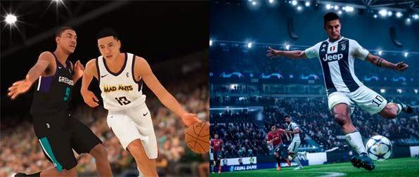 videojuegos - septiembre 2018 - NBA 2K19 -  Fifa19
