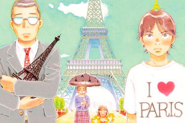 Junjo Kawakami: Adolescencia en Montmartre