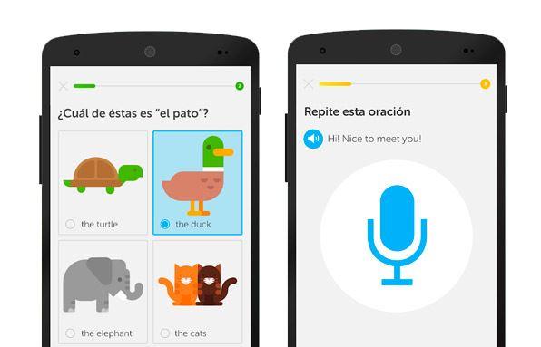 apps vuelta a la rutina - Duolingo