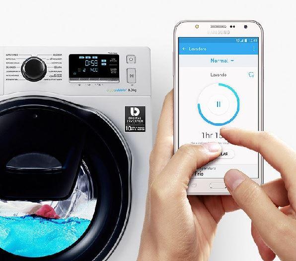 samsung lavadora -  SmartThings