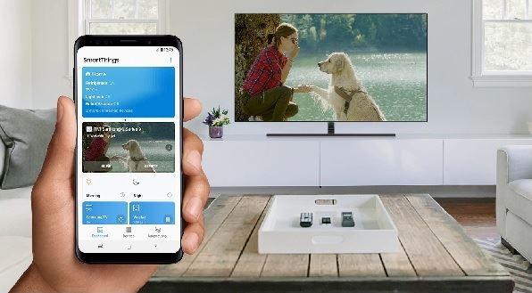 samsung televisor - smartThings