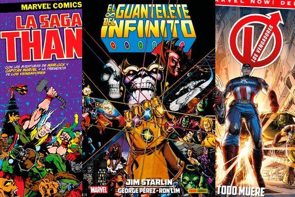 Vengadores: ¡Traedme a Thanos!