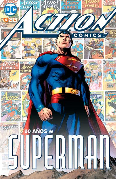 superman - dc comics - 80 años