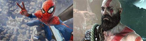 Lo mejor del año videojuegos - spiderman - god of war