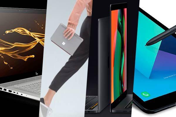 Los mejores portátiles y tablets de 2018