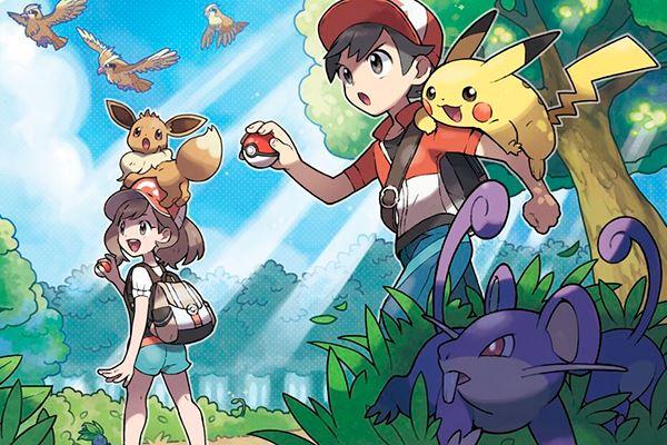 Pokemon Let's Go: De vuelta a Kanto
