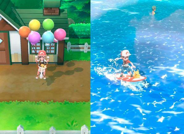 Pokemon Lets Go-videojuego