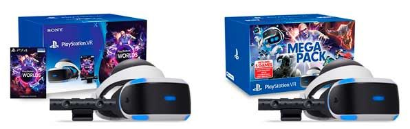 Repasamos la PlayStation VR - packs