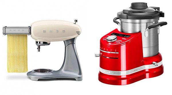 robot de cocina - smeg - kitchenaid