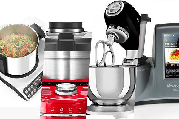 Ciberchefs: Los mejores robots de cocina
