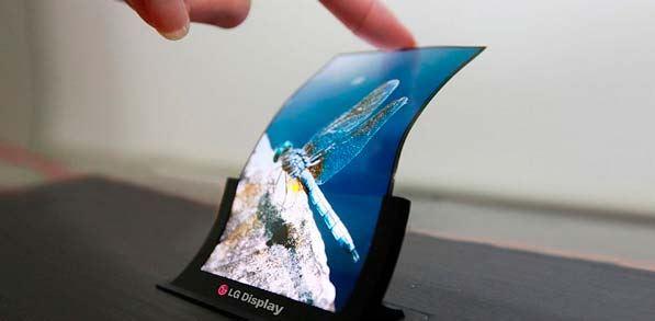 Tendencias 2019 - pantallas flexibles