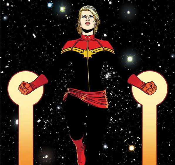 Captain Marvel-comic