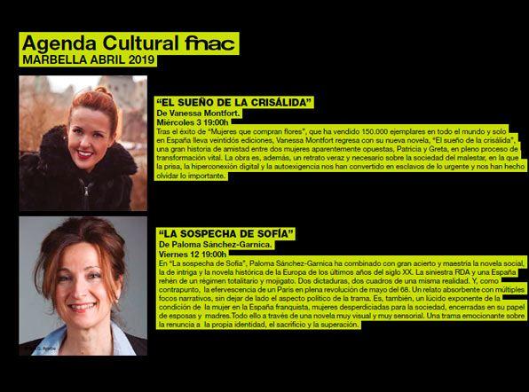 agenda fnac marbella - abril 2019