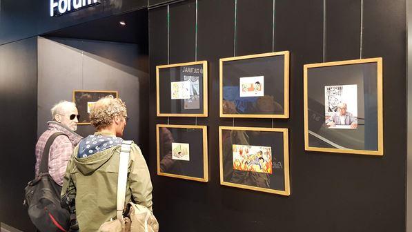 Exposición Zipi y Zape en formato original