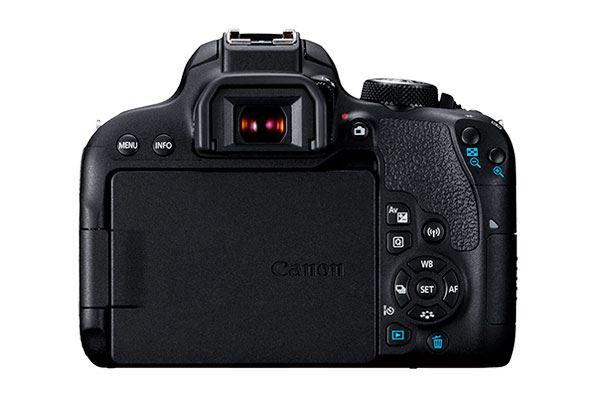camaras feflex-canon 800D - visor