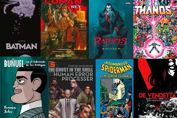Cómics para el Día del Libro