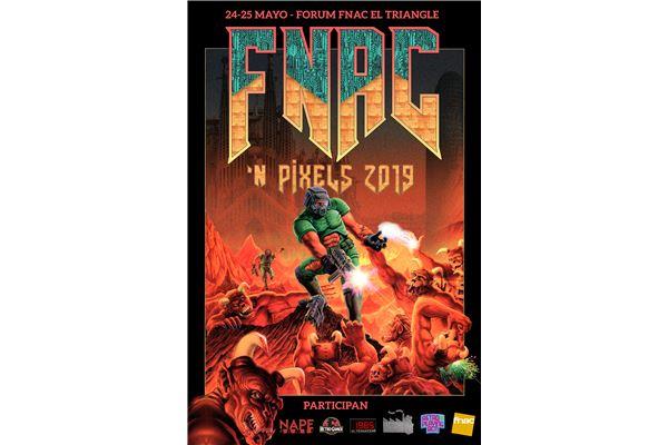 Fnac N Pixels cartel