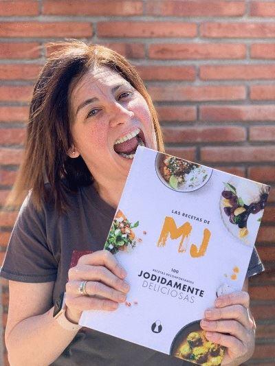 """Presentación del libro """"Las recetas de MJ"""""""