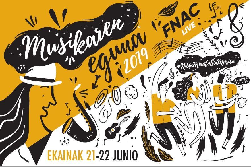 Fnac Donostia celebra el Día de la Música los días 21 y 22 con 8 conciertos