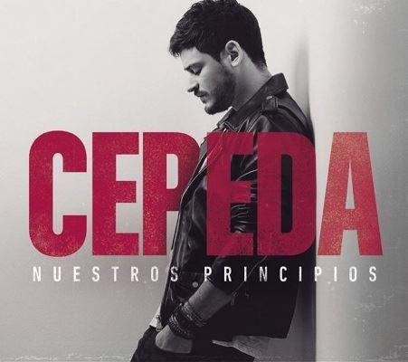"""Firma de discos de Cepeda,  """"Nuestros Principios"""""""