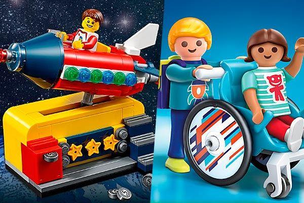 Playmobil vs LEGO: diferencias y cuál es mejor regalar a cada niño