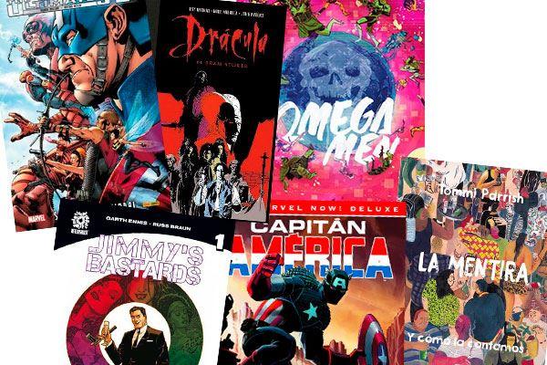 Selección de cómics para leer en junio