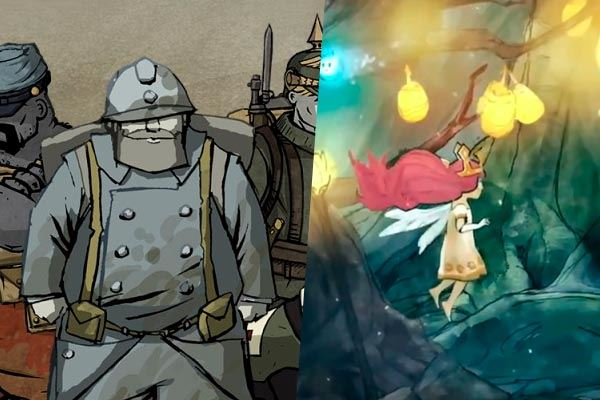 Valiant Hearts + Child of Light: Delicadísima animación
