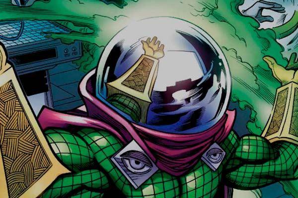 spiderman vs misterio - comic