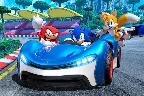 Team Sonic Racing: Erizo sobre ruedas
