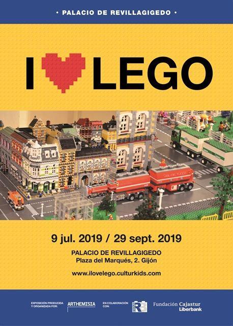 Cartel Lego Gijón