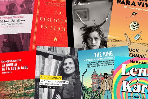 Selección de libros para leer en vacaciones