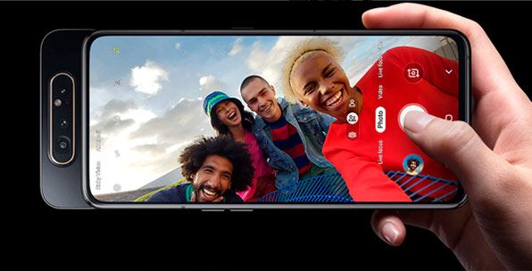 Samsung A80-camara