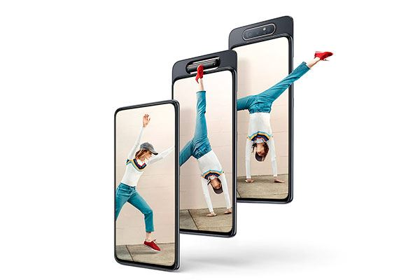 Samsung Galaxy A80: Magia reversible