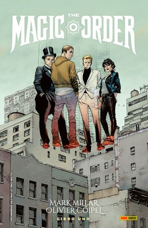 the magic order-comic