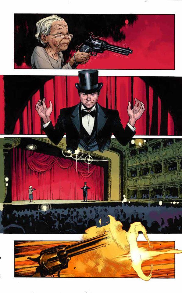 the magic order - comic