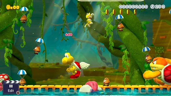 Mario Maker 2-videojuego
